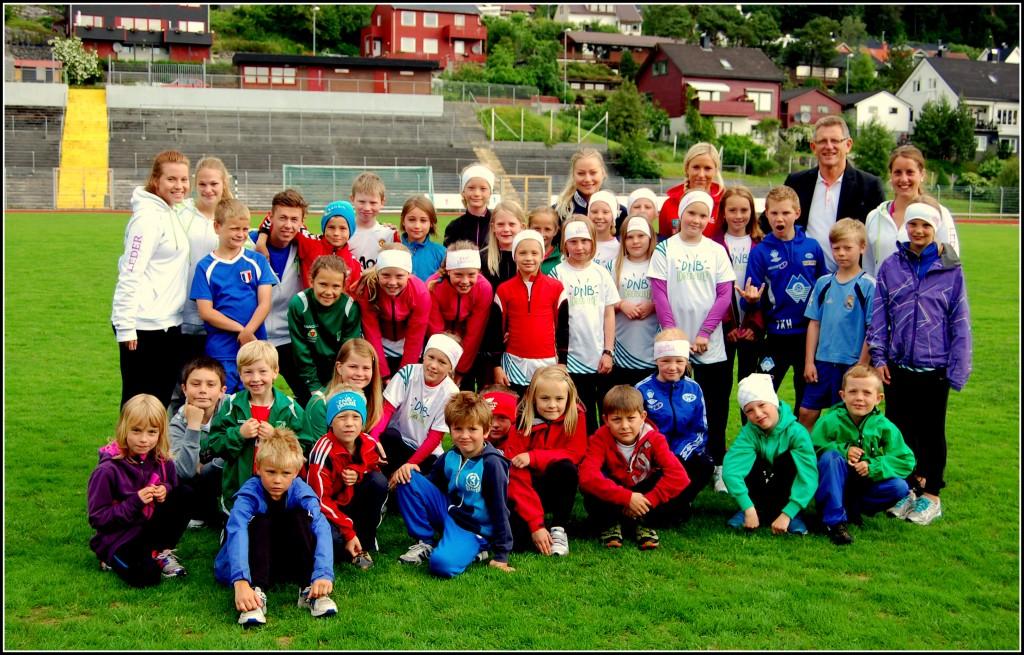 DNB Idrettsleker 2013 Foto: Arvid Ottestad