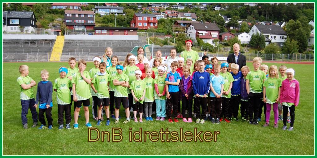 Fra fjorårets idrettsleker der vi hadde besøk av Ragnhild Mowinckel. Foto: Arvid Ottestad