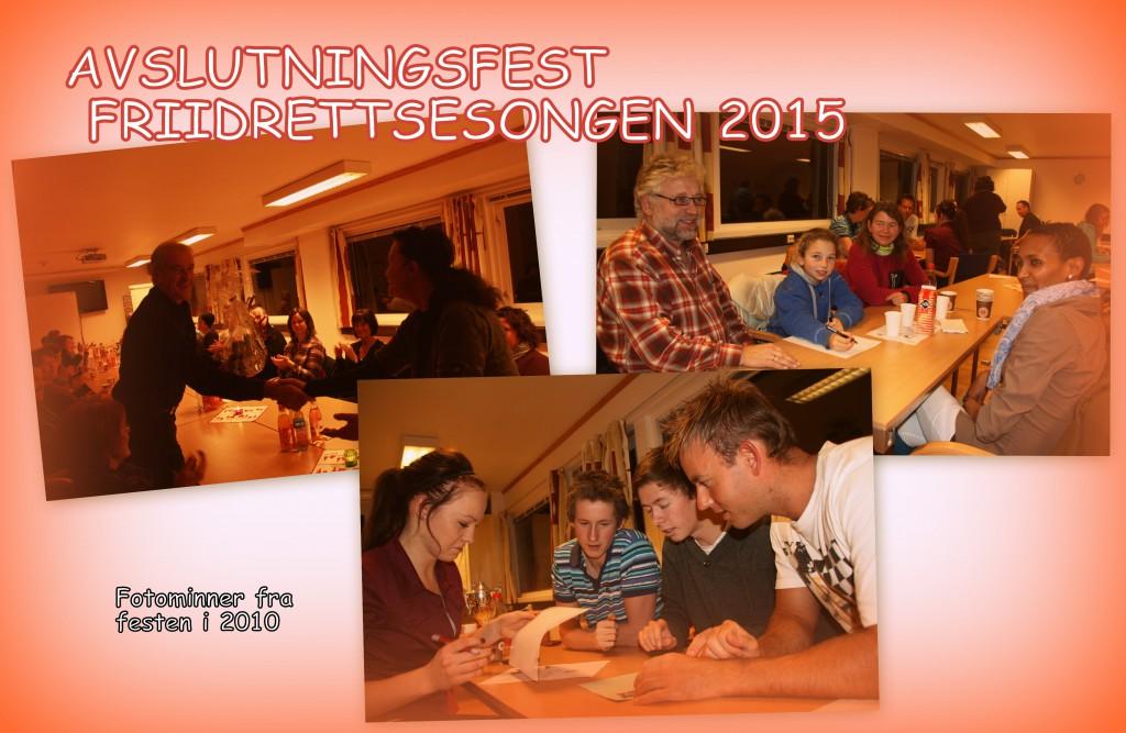 Innbydelse årsfest 2015