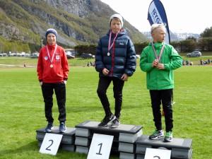 Mathias nr.2 på 60 m