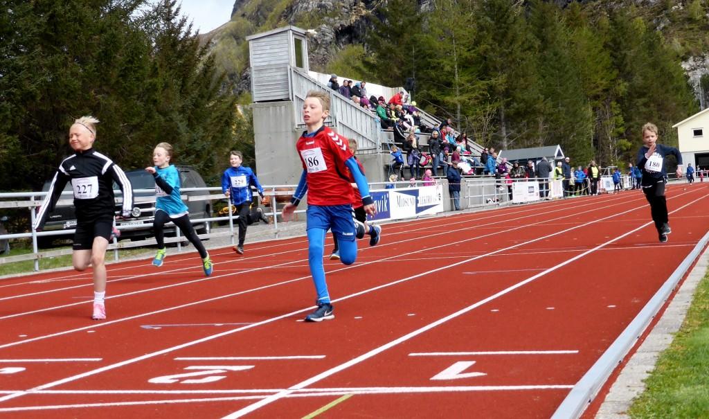 Mathias vinner sitt heat på 60 m