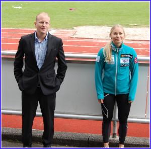 Rolf Gjerde og Ragnhild Mowinckel