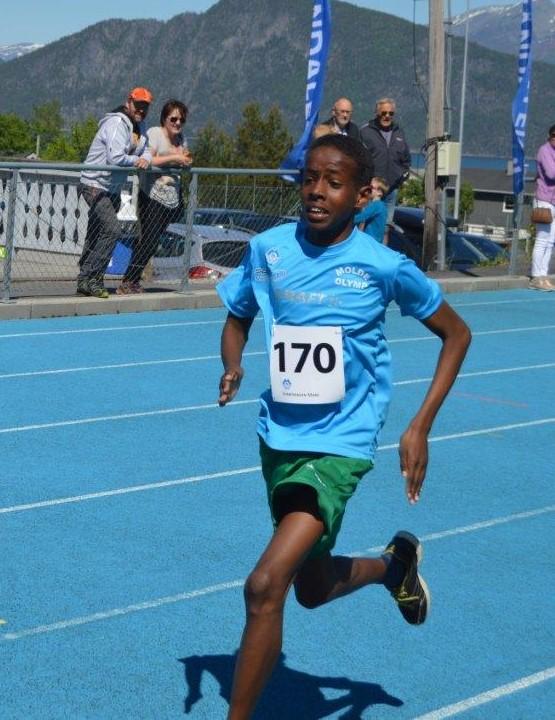 Sabir Tahil vant klart både 60 m og 600 m i G11.