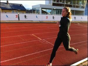 Vilde inn i sisterunden på 2000m. Foto: Gunnar Sandvik