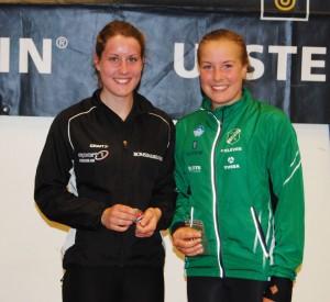 Vilde Ottestad og Jenny Stokkevåg Berg