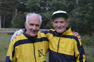 Arvid Fjærli og Harald Søbstad Foto: Arvid Ottestad