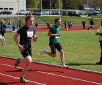 Damian Steinke på 200m