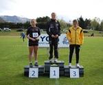 Hanna Veseth Kristoffersen vant 60m i J13