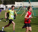 Per Gunnar Brødreskift på 800m