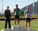 Hardarleikane Ivar, Hallbjørn og Andreas G17-400m