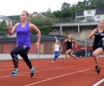 200m jenter' Foto: Gunn Oshaug